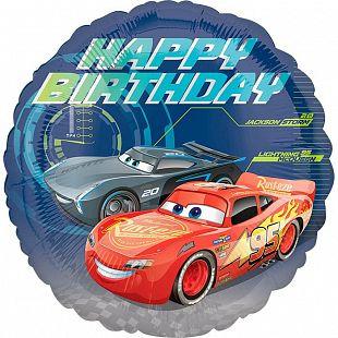 Тачки СДР / Cars Happy Birthday S60, Размер 18