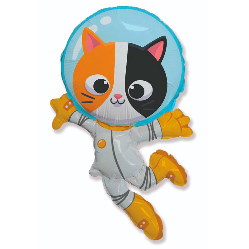 Котик - астронавт,  Размер: 38″/57*96 см
