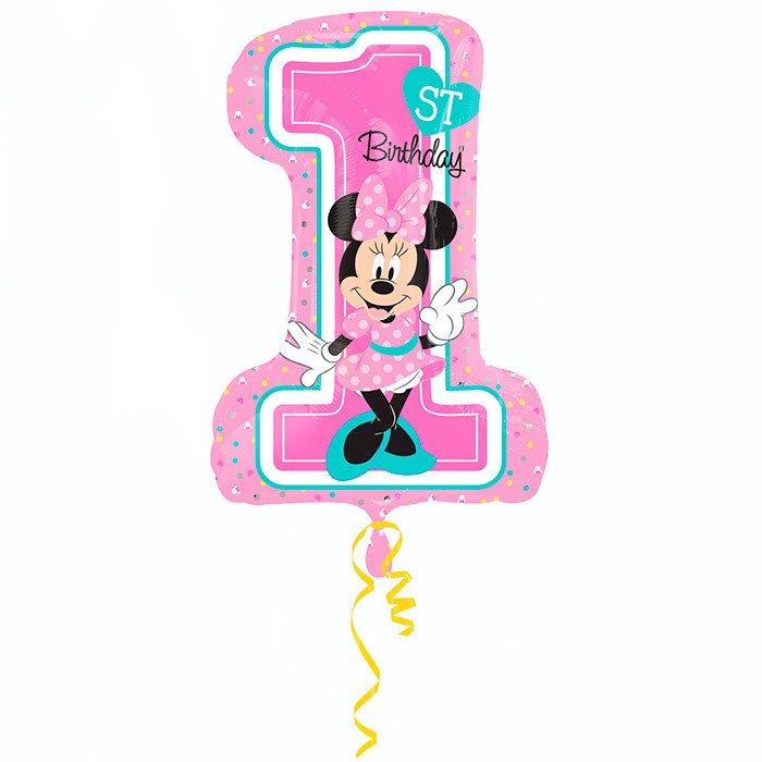 А 18 Цифра Минни 1й День рождения