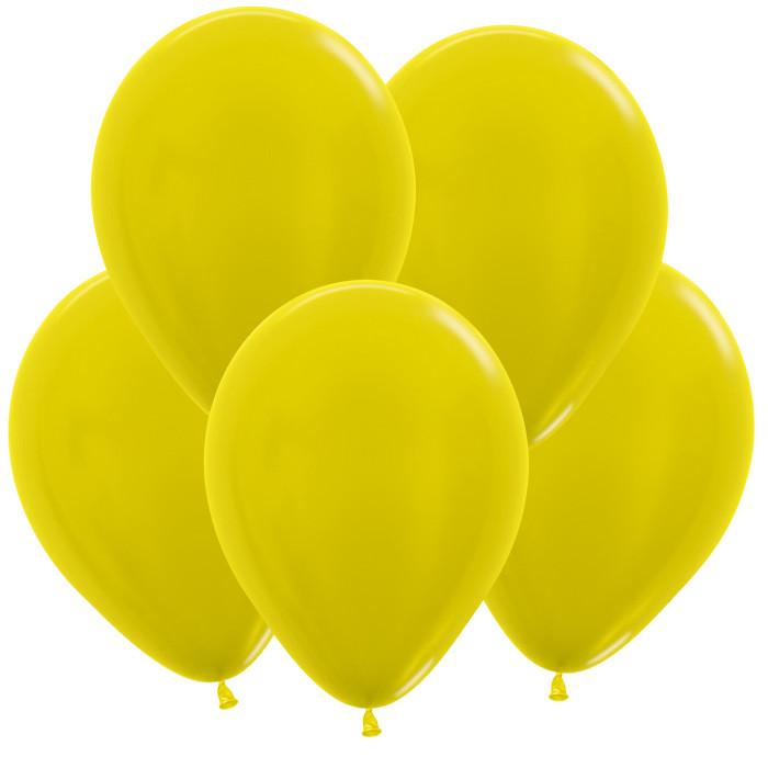 Жёлтый, Метал, 30 см / 100 шт / Колумбия