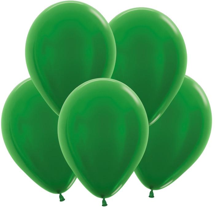 Зелёный, Метал, 30 см / 100 шт / Колумбия