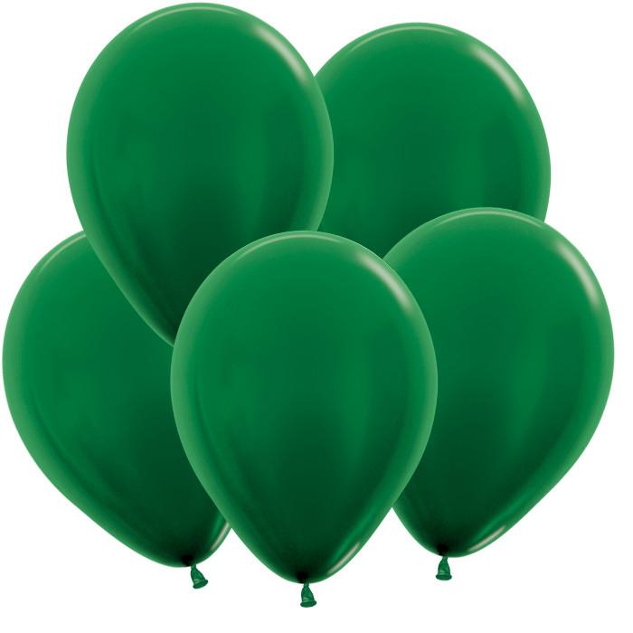 Тёмно-Зелёный, Метал, 30 см / 100 шт / Колумбия