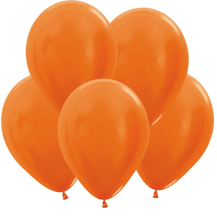 Оранжевый, Метал, 30 см / 100 шт / Колумбия,