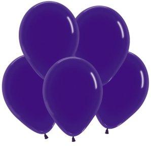 Фиолетовый, Кристал, 30 см / 100 шт / Колумбия