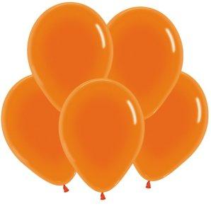 Оранжевый, Кристал, 30 см / 100 шт / Колумбия