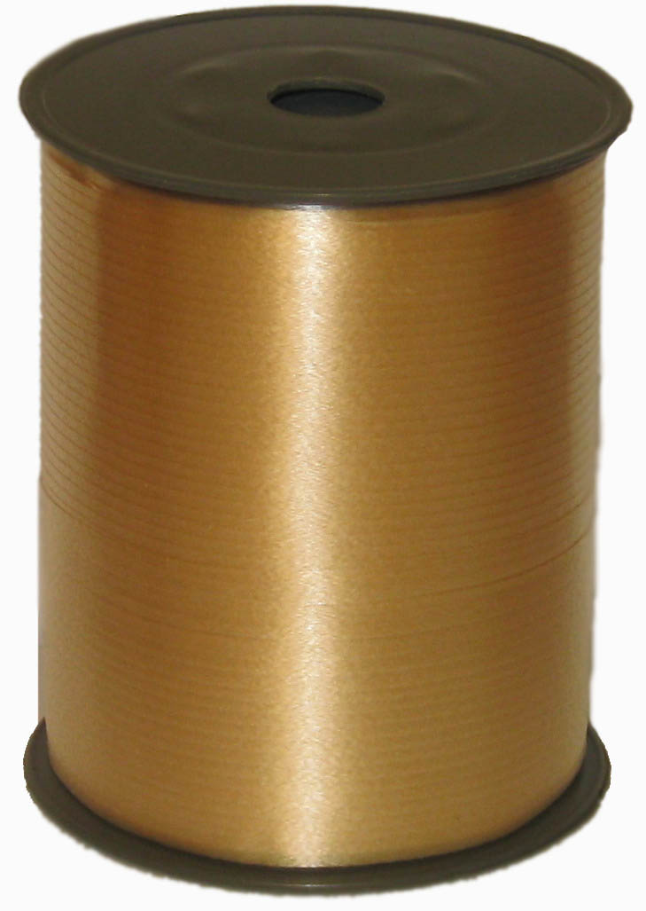 Лента цвет Золото, бобина 0,5 см / 500 м, Россия