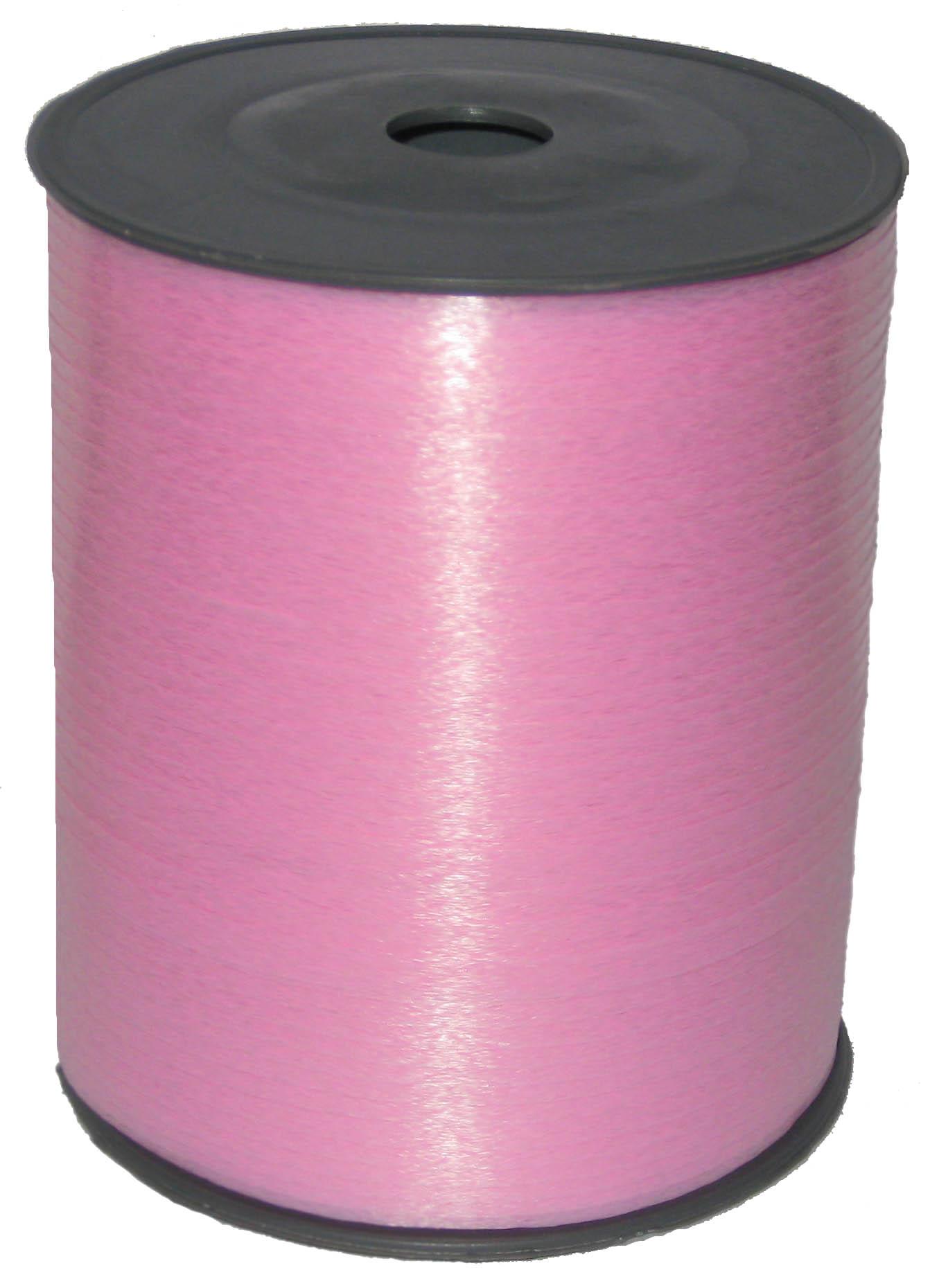Лента цвет Светло-розовый, бобина 0,5 см / 500 м, Россия