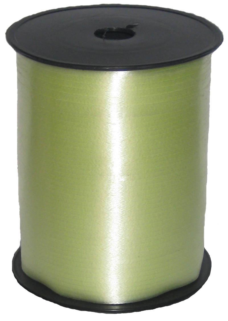Лента цвет Светло-зеленый, бобина 0,5 см / 500 м, Россия