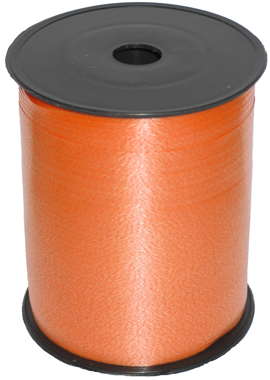 Лента цвет Оранжевый, бобина 0,5 см / 500 м, Россия