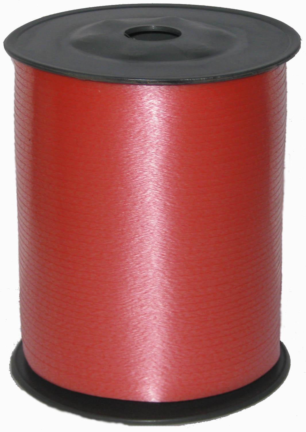 Лента цвет Красный, бобина 0,5 см / 500 м, Россия
