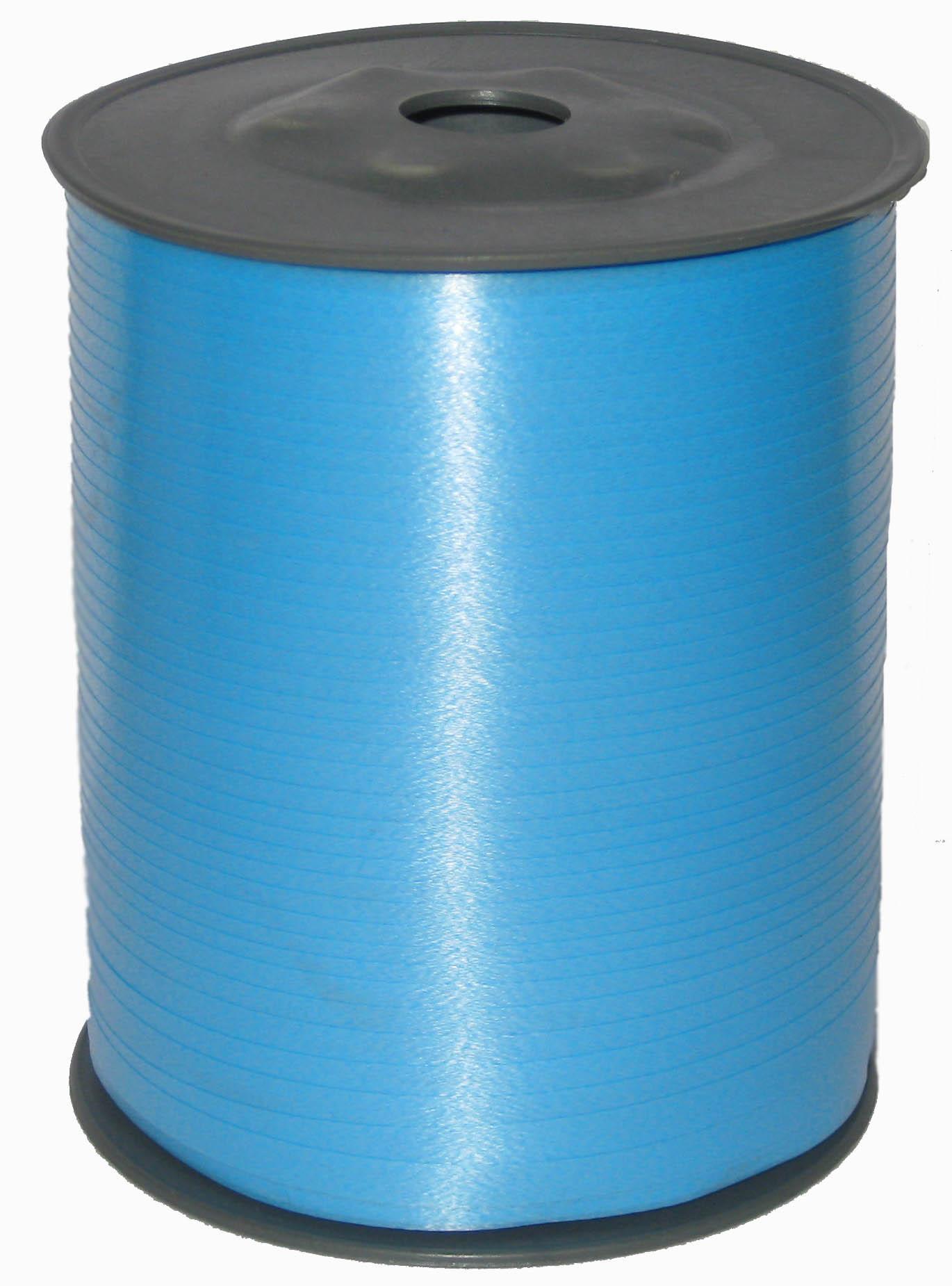 Лента цвет Голубой, бобина 0,5 см / 500 м, Россия