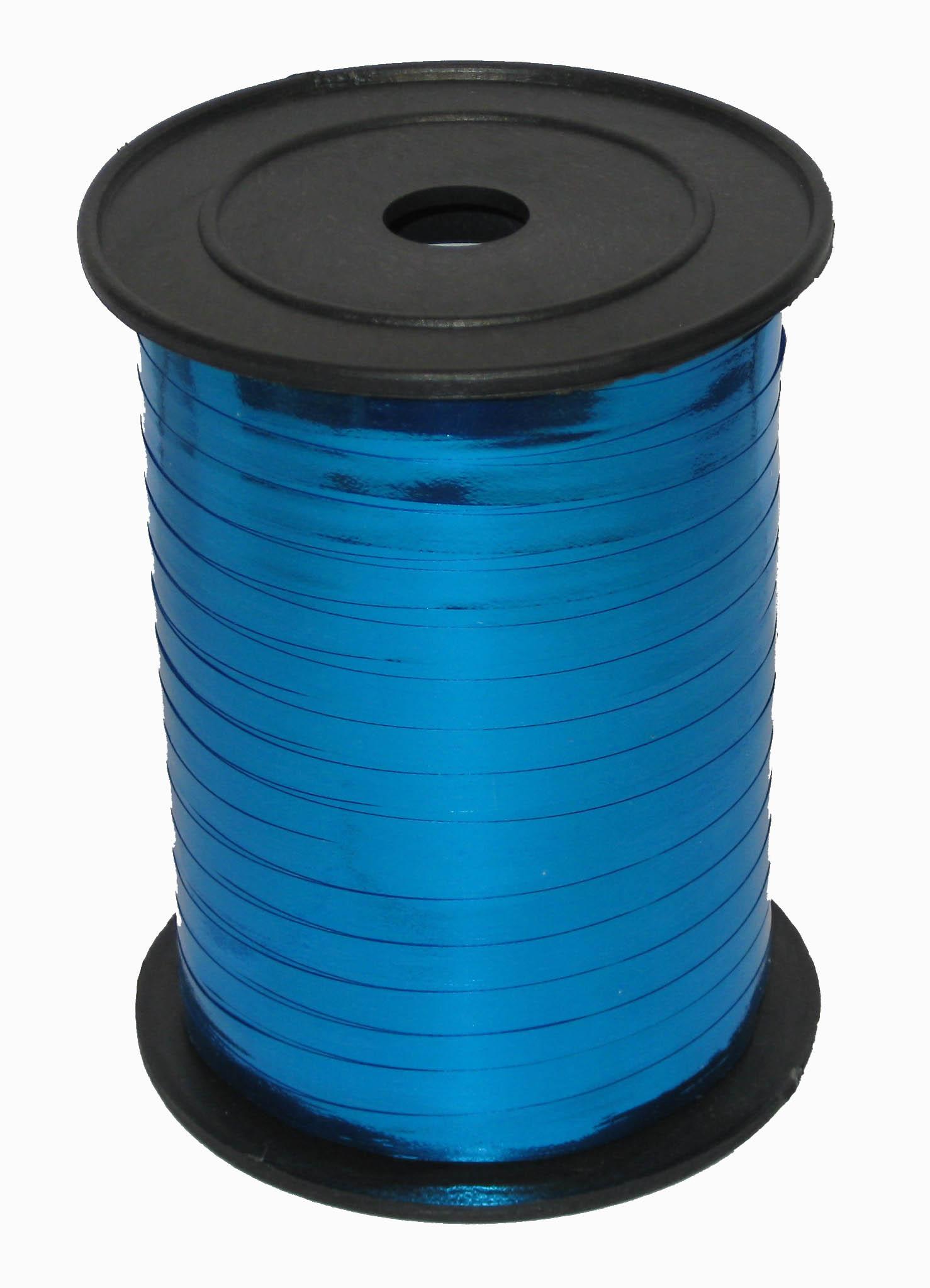 Лента Синяя металл, бобина 0,5 см / 250 м / Россия