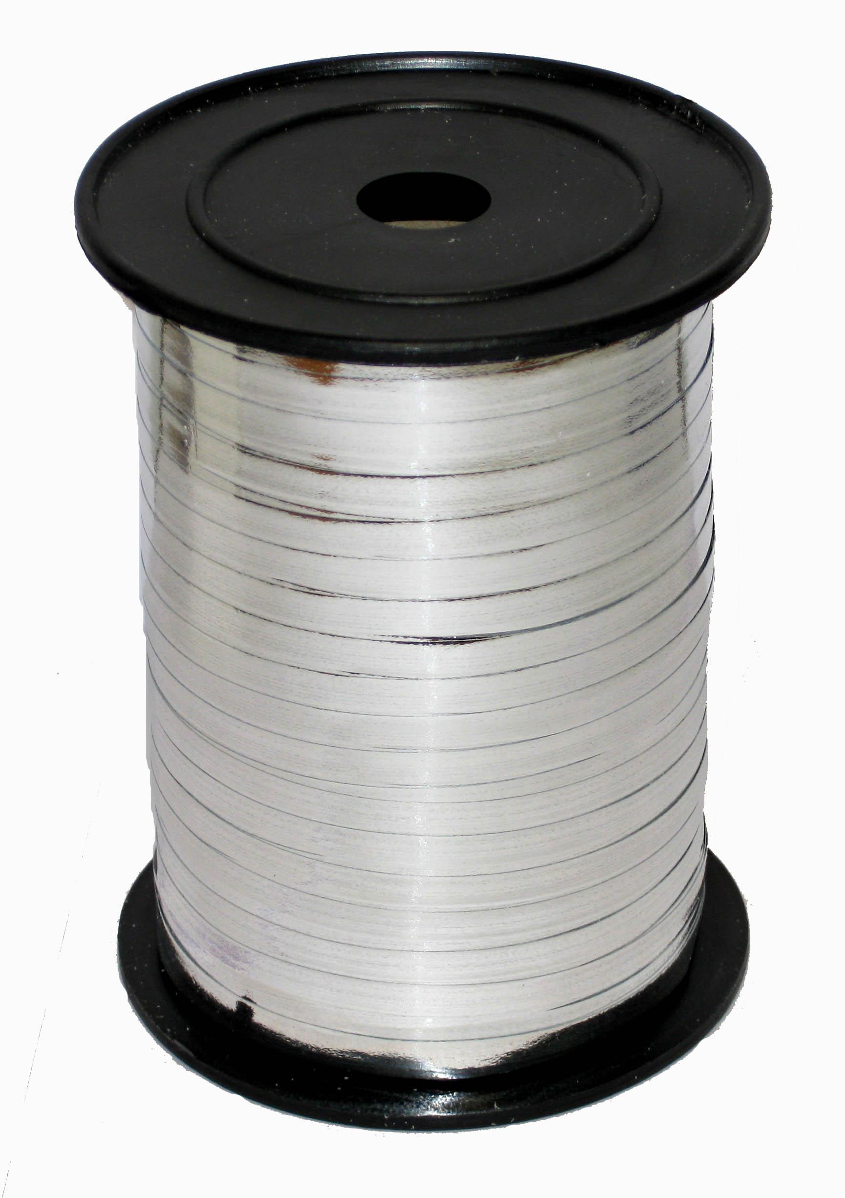 Лента Серебро металл, бобина 0,5 см / 250 м / Россия