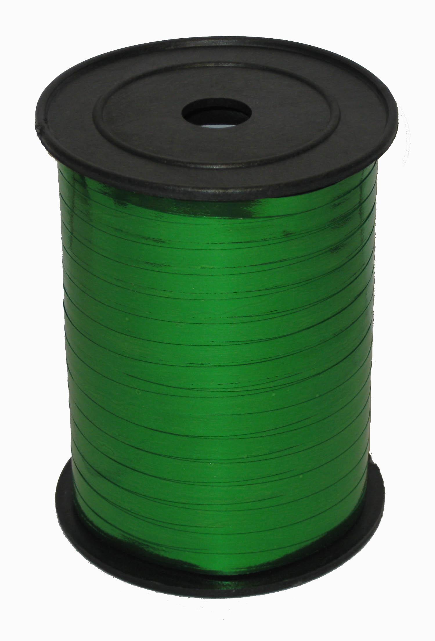 Лента Зеленая металл, бобина 0,5 см / 250 м / Россия