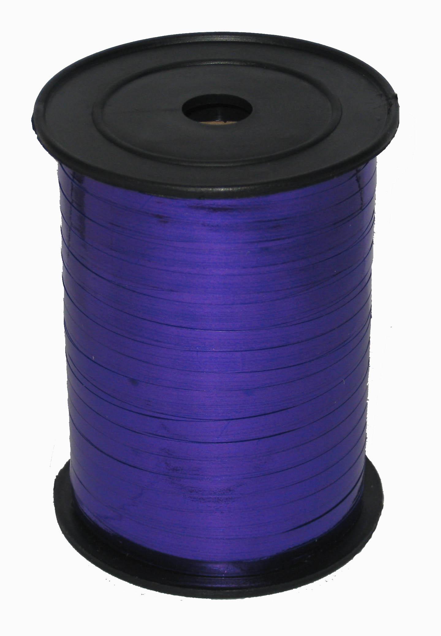 Лента Фиолетовая металл бобина 0,5 см / 250 м / Россия