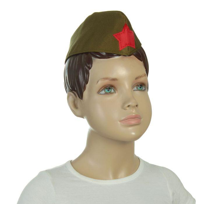 Пилотка военного, р-р 56 см
