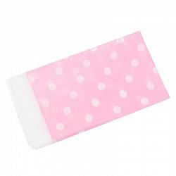 Скатерть розовая, Точки, 180*108см