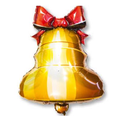Шар фигура Колокольчик с ленточкой, размер шара: 77*58 см