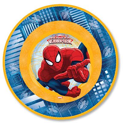 Тарелки Человек Паук, 6 штук в упаковке, диаметр 17 см