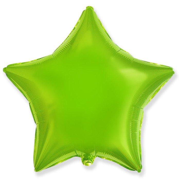 Шар Звезда Лайм, 48 см