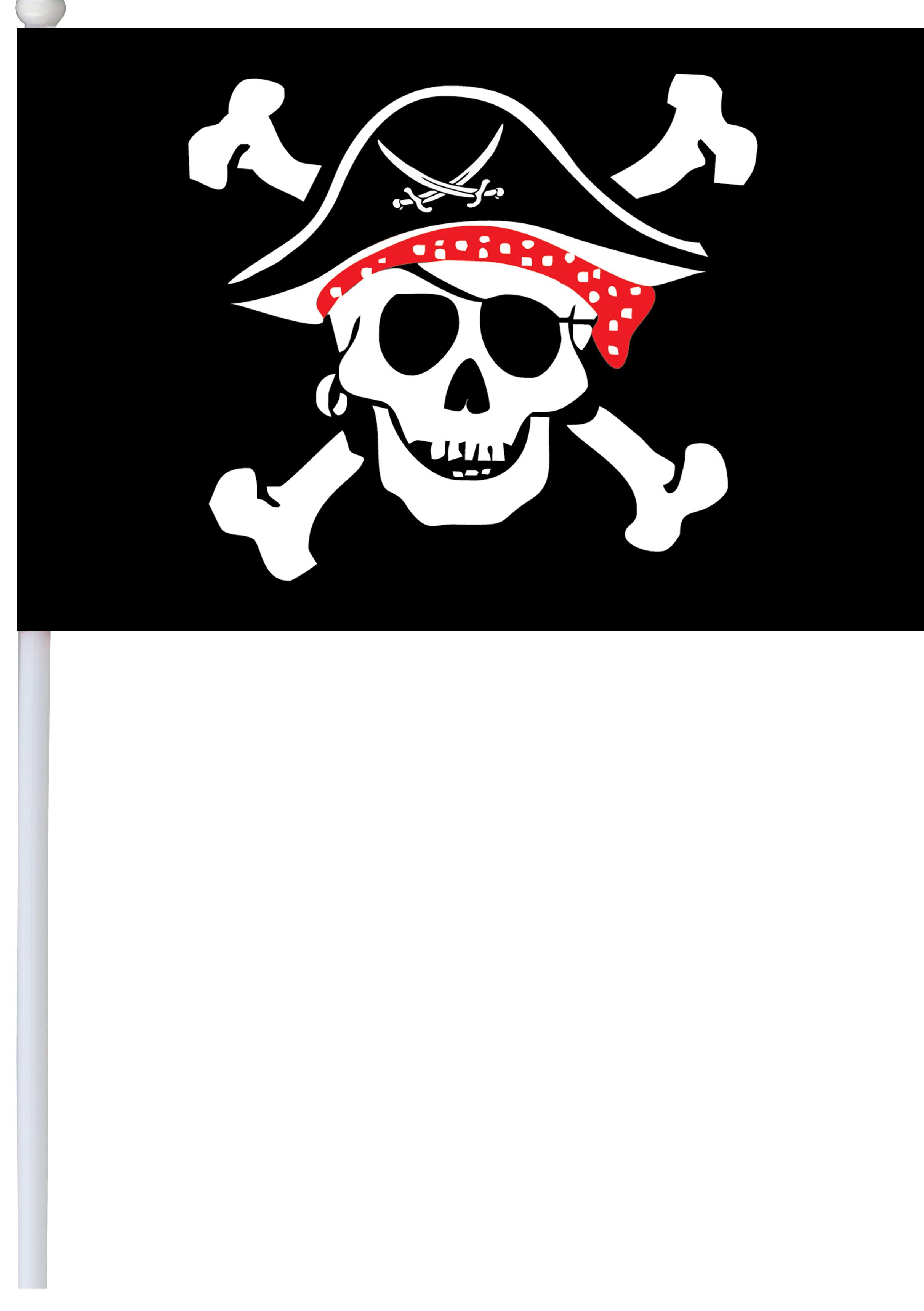 Флаг Пират, 14*20 см