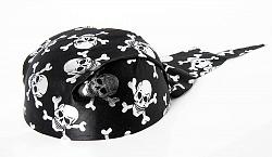 Шляпа Бандана с черепами