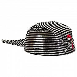 Шляпа Бандана Пират серебряные полосы