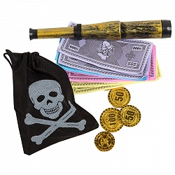 Набор пирата №2, 4 предмета