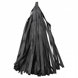 Гирлянда Тассел, Черная, 3 м, 12 листов