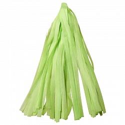 Гирлянда Тассел, Светло-зеленая, 3 м, 12 листов