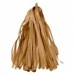 Гирлянда Тассел, Золото, 3 м, 12 листов