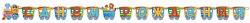 Гирлянда - буквы С ДР, Паровозик, длина 280 см