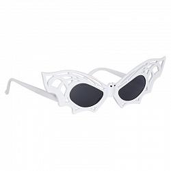 Очки Летучая мышь, белый