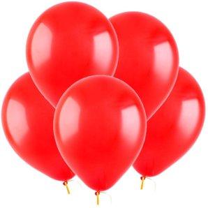 Красный, Пастель, 12,5 см, 100 шт, ВЕСЕЛУХА