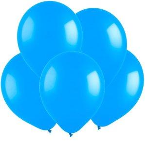 Голубой, Пастель, 12,5 см, 100 шт, ВЕСЕЛУХА