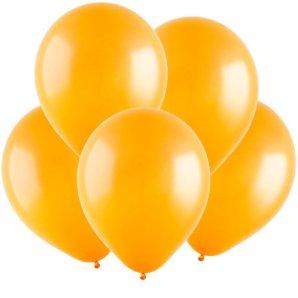 Оранжевый, Пастель, 12,5 см, 100 шт, ВЕСЕЛУХА
