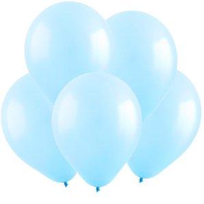 Светло-голубой, Пастель, 12,5 см, 100 шт, ВЕСЕЛУХА