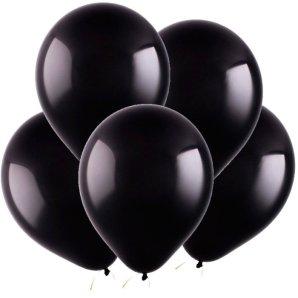Черный, Пастель, 12,5 см, 100 шт, ВЕСЕЛУХА