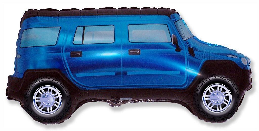 Внедорожник (синий), 48*84 см