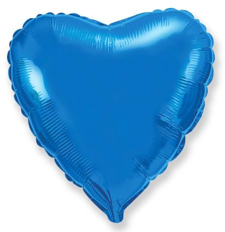 Сердце Синий, 78 см