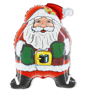 Дед Мороз Супер, 73*57 см