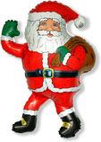 Дед мороз с подарками, 84*66 см