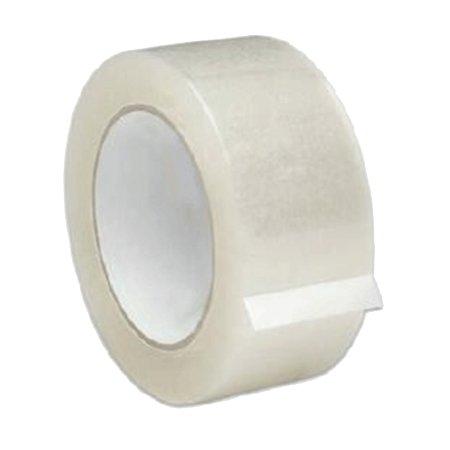 Лента клейкая упаковочная прозрачная, 48 мм*30 м/50 мкм