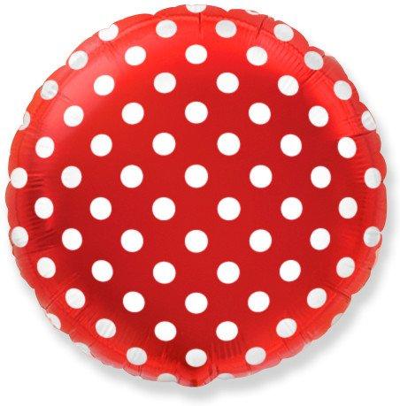 Горох (Красный), круг, 48 см / 1 шт, Испания