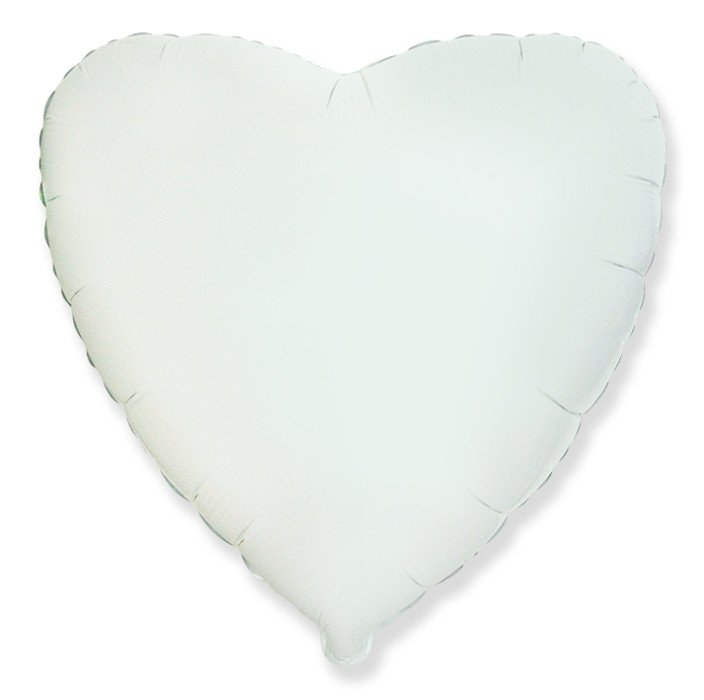 Сердце Белый, 48 см, Испания