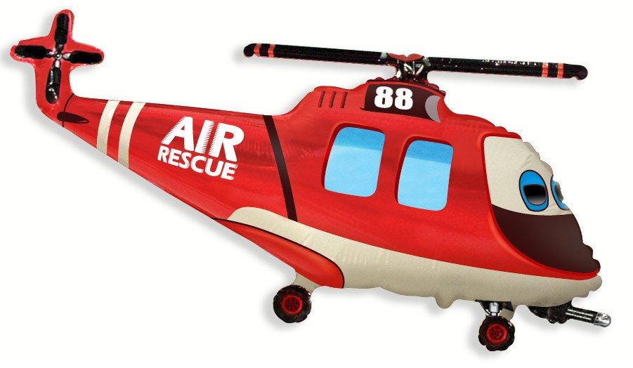 Вертолет спасательный, 56*97 см