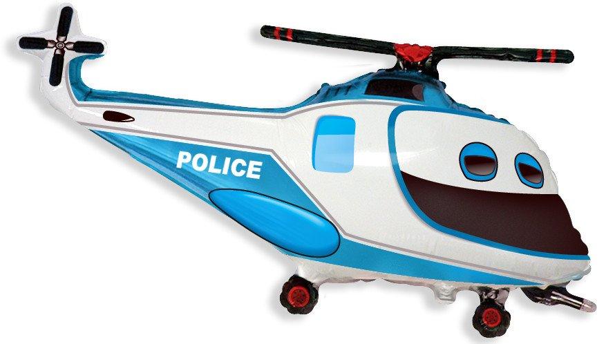 Вертолет полицейский, 56*97 см