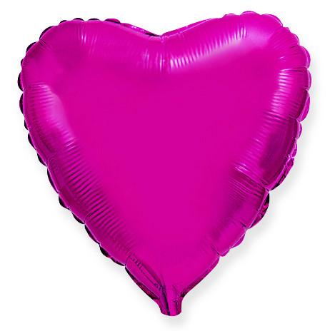Сердце Лиловый, 78 см