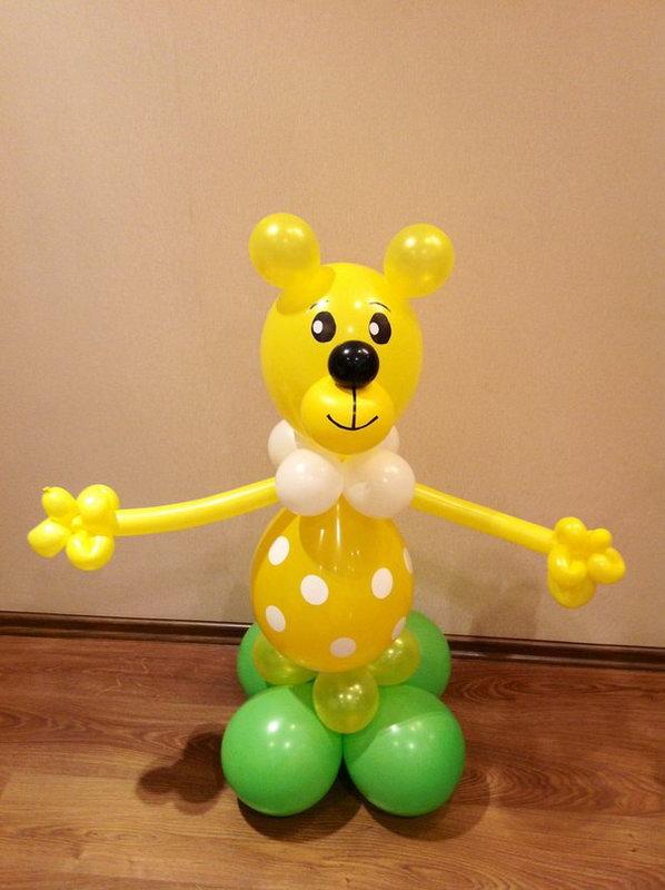 Желтый мишка