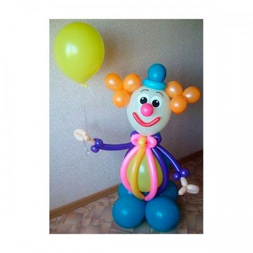 Клоун с воздушным шариком